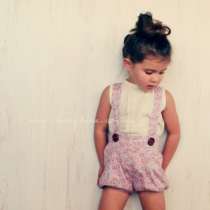 BNWT Lacey Lane Penelope Suspender Shorts Sz 4 And Matching Headscarf