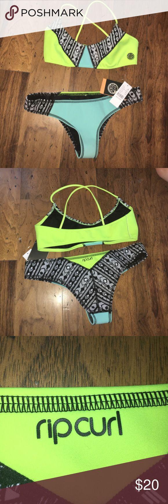 rip curl bikini super comfortable and stylish bikini! great for surfing or beach use!! great discount!! rip curl Swim Bikinis