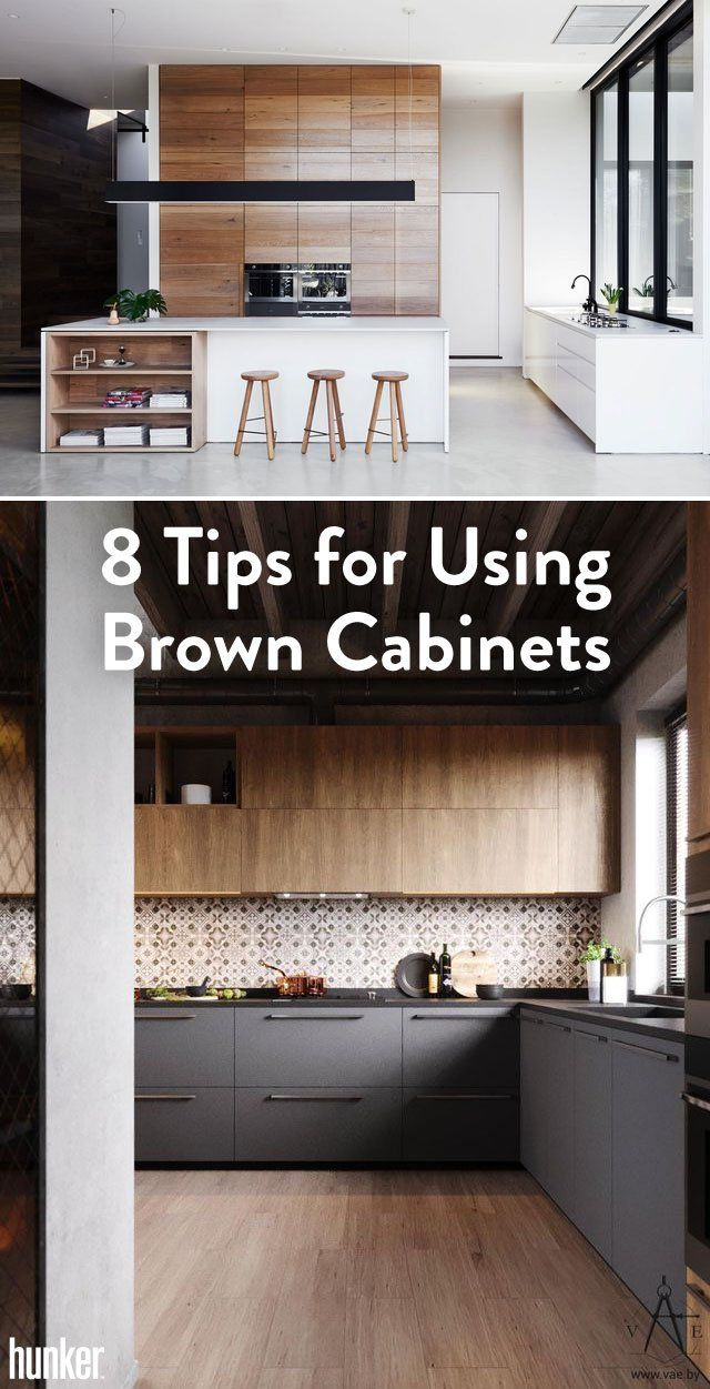 Have Brown Cabinets And Want To Update? Here Are Some Tips To Creating A  Beautiful Kitchen Space Using Them To Your Advantage!
