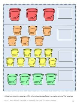 math worksheet : 50 best file folder games images on pinterest  file folder games  : Kindergarten Math File Folder Games