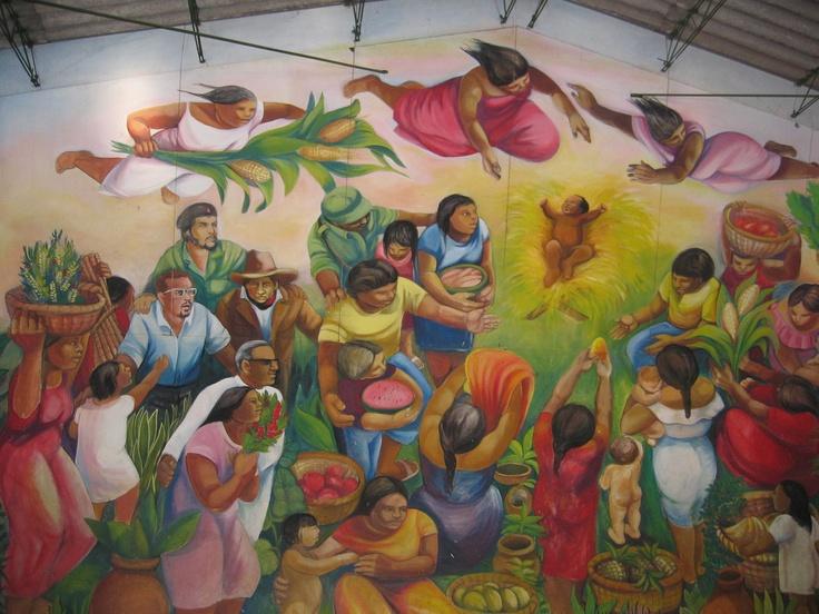 71 best images about nicaragua on pinterest ometepe san for Mural nicaraguense
