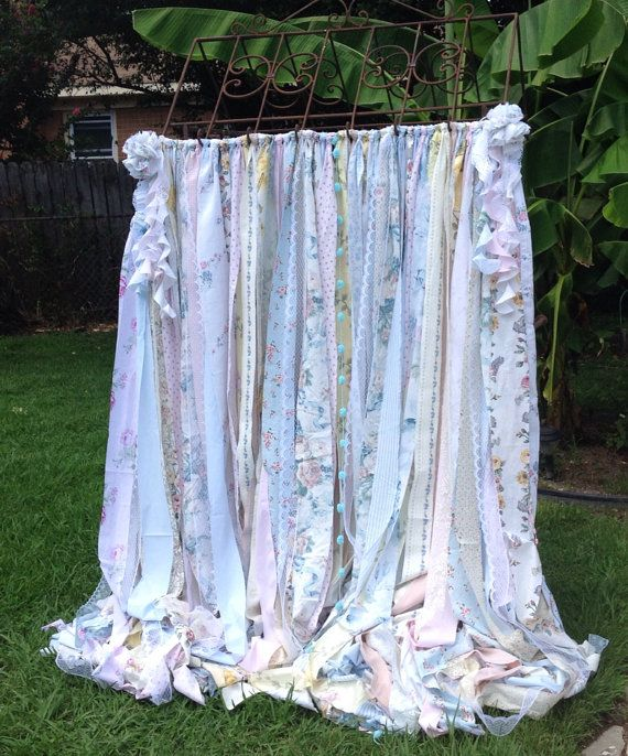 17 best images about diy decor on pinterest curtain rods - Shabby chic curtain poles ...