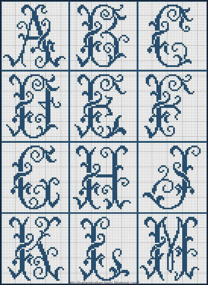 Free Easy Cross, Pattern Maker, PCStitch Charts + Free Historic Old Pattern Books: Sajou No 322