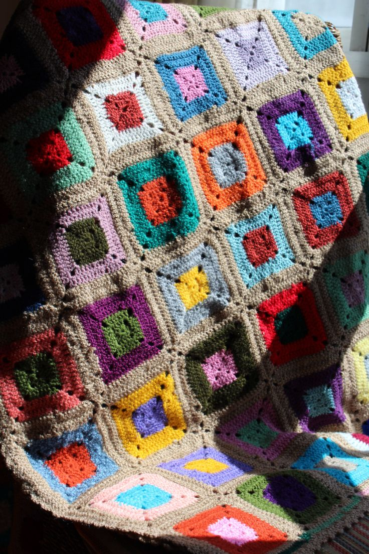 25 ideas destacadas sobre manta afgana en pinterest - Mantas lana ganchillo ...