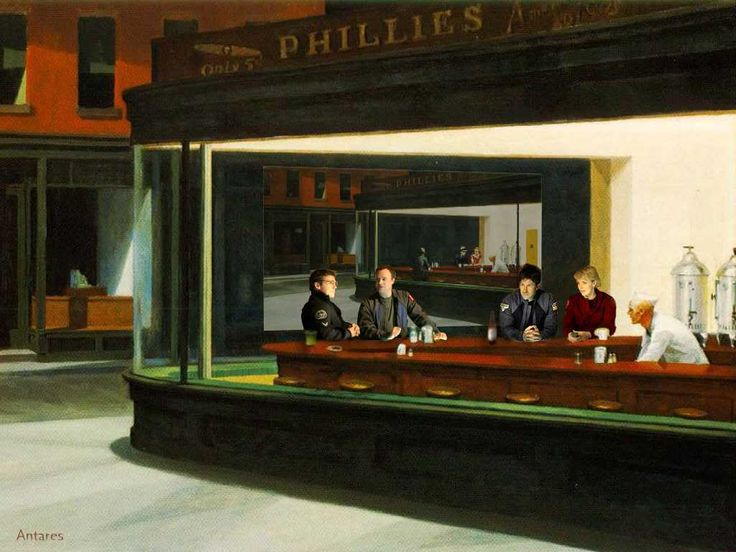 17 Best images about Nighthawks on Pinterest | The giants ...