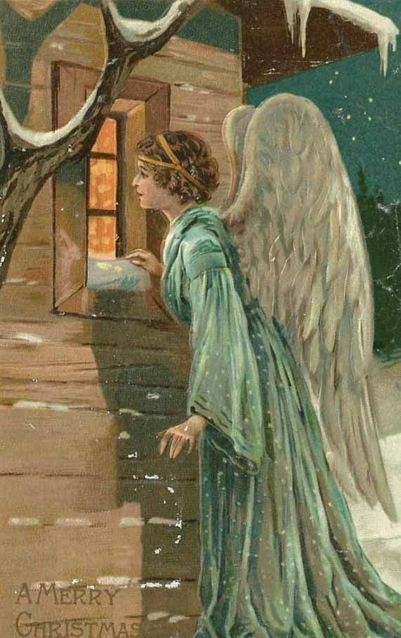 Angel of God, my guardian dear, to whom God's love commits me here. Ever this day be at my side, to light and guard, to rule and guide. Amen.: