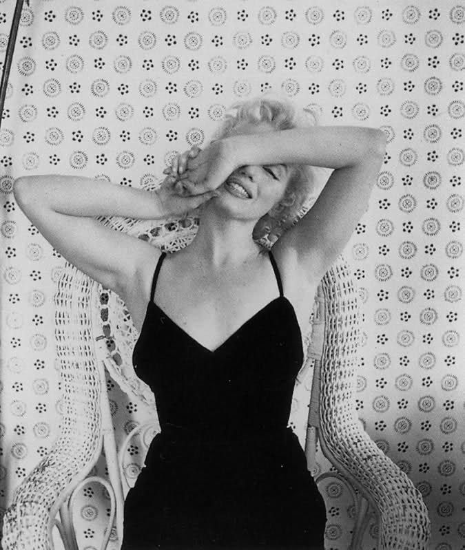 Marilyn Monroe by Cecil Beaton 1956.