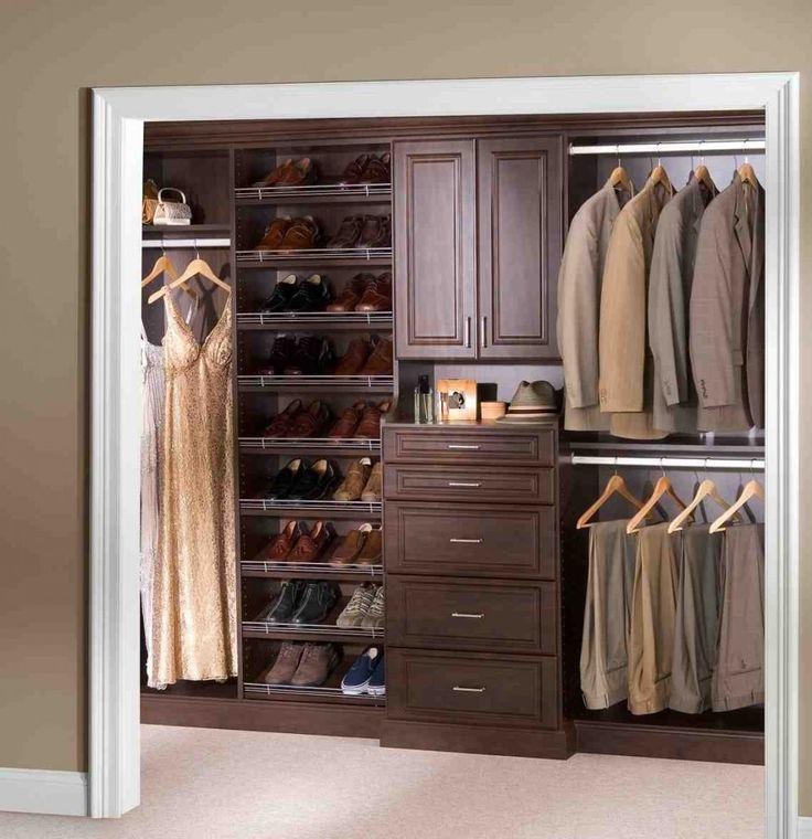 best wood for closet shelves - Kleine Schlafzimmerideen Mit Lagerung