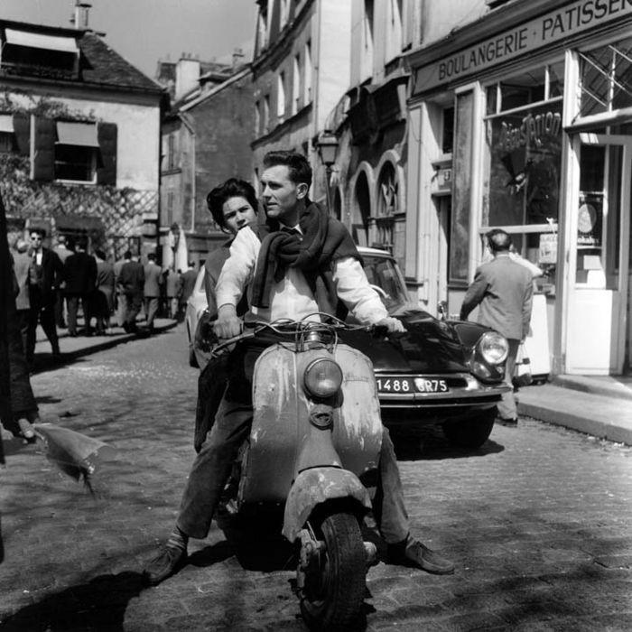 Paris 1960.Place du Tertre -Montmartre. Photo: Kees Scherer.