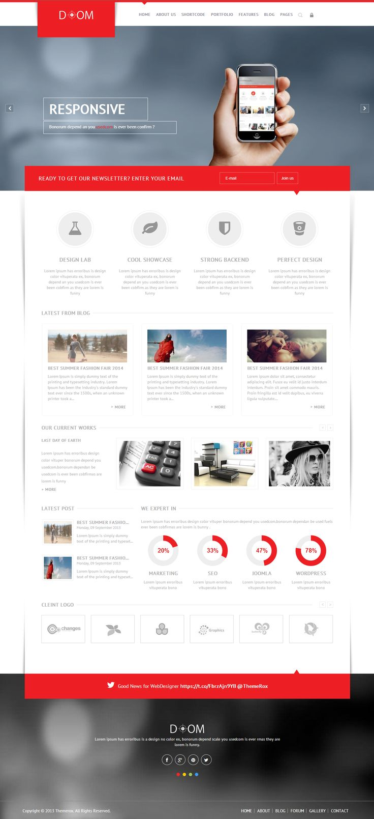 60 best Best Professional Joomla Website Templates images on ...