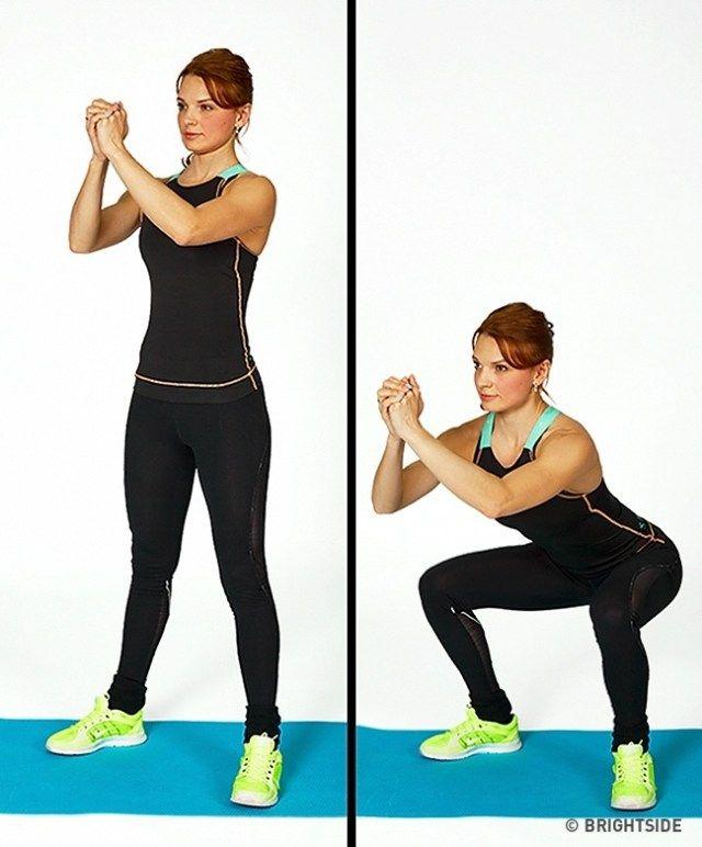 7 ασκήσεις που θα μεταμορφώσουν το σώμα σας σε ένα μήνα