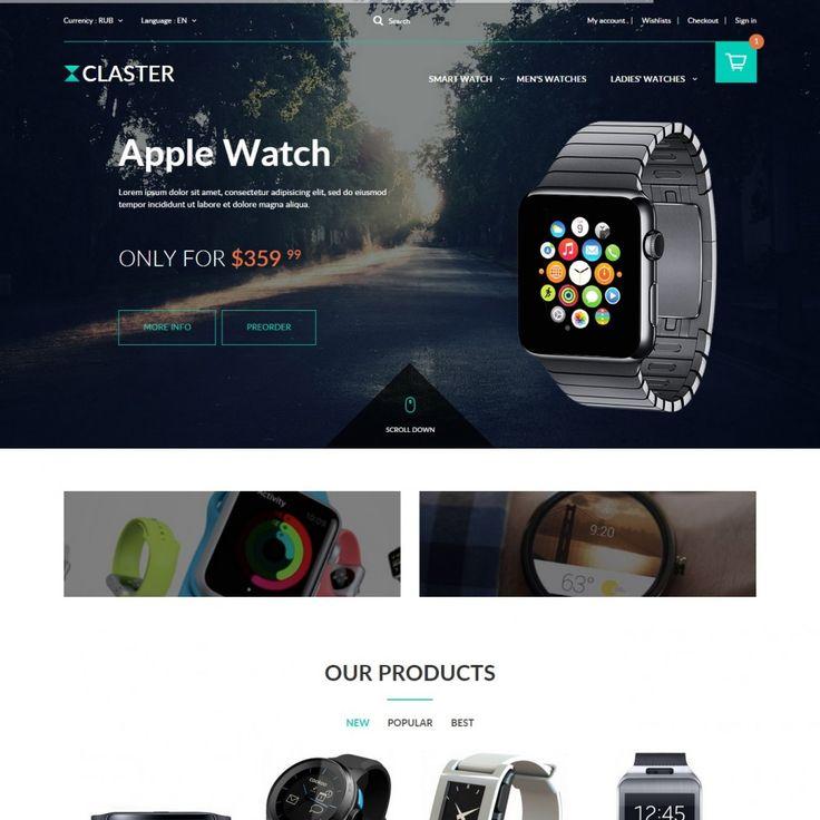 #Watch Theme #PrestaShop #templates #theme #Addons #Shop #Ecommerce #Prestapro