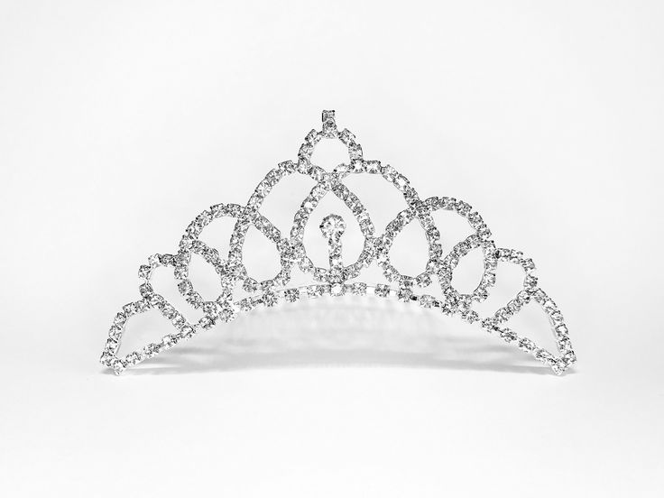 Princess Stella - Frozen Winter Collection - Baby Girl & Woman Tiara w Comb. Diamond like sparkling embellishment tiara - shines & draws attention. Great for events like wedding, engagement, birthday, & prom. Each tiara we carry have a unique design. We carry tiaras of many sizes, please confirm size in product info. Tiara in model is for reference only. It is not the actual tiara for sale.