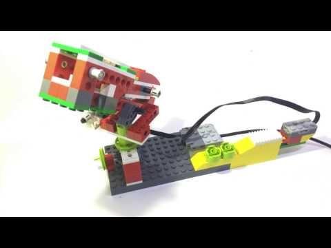 RAILGUN LEGO WeDo Education - YouTube