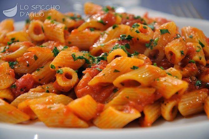 Penne Arrabbiata sauce : Original Italian recipe | Agnese Italian Recipes