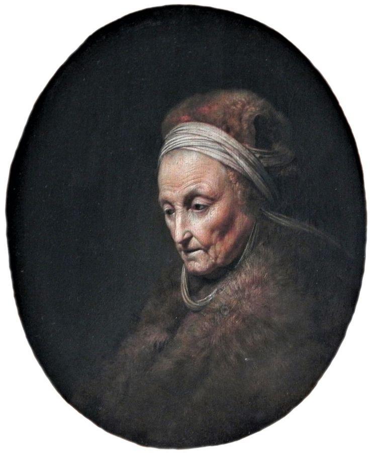 Η μητέρα του Ρούμπενς (1630) Κρατικό Μουσείο στο Βερολίνο