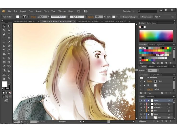 Adobe illustrator CS6 Screenshots