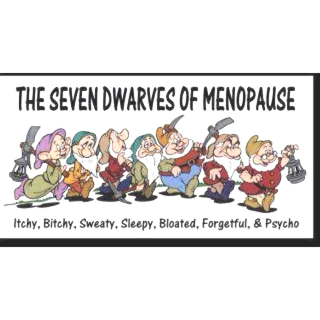 The Seven Dwarfs Of Menopause Its Good To Laugh Menopause