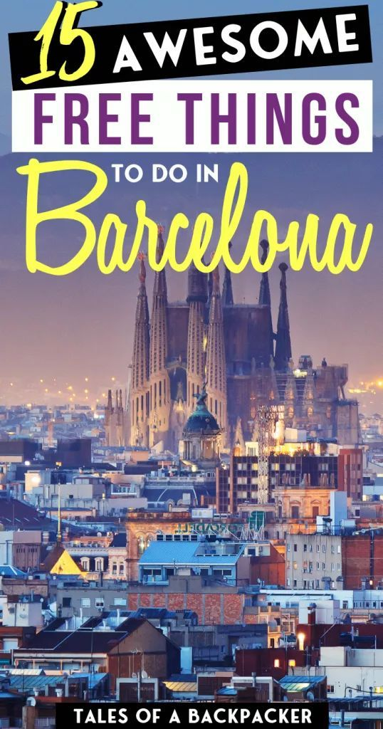 15 Awesome Free Things to Do in Barcelona to Rock your Stay