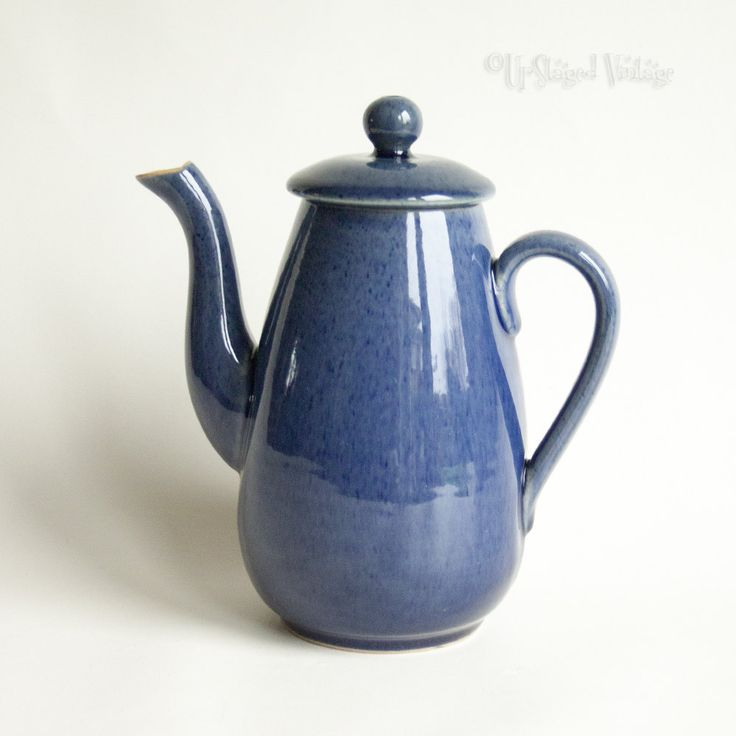 Vintage 1920s/30s BOURNE Denby Cottage Blue 1 Pint Tea Pot Discontinued Pottery by UpStagedVintage & 551 best Discontinued Replacement Pottery u0026 Glass images on Pinterest