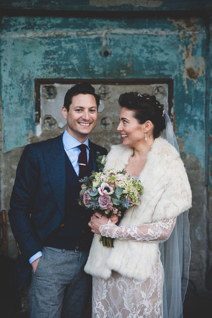 Daisy & Danny, Winter wedding, The Assylum, London - Dave Watts Photography