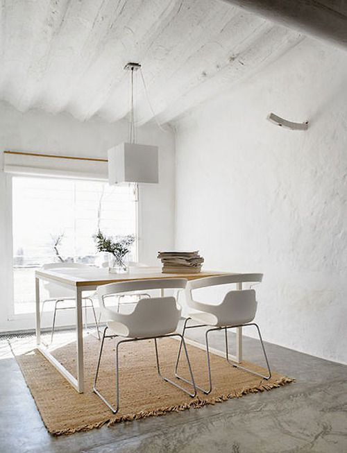 . #eclectic dining room