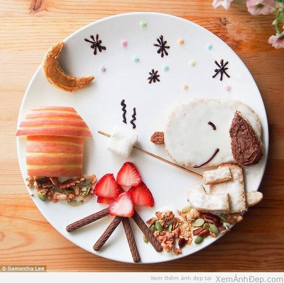 9 best The food decoration images on Pinterest | Funny food ...