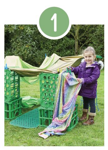 5 ways with creative crates…Great for motor skills, collaborative games, language activities and so much more.