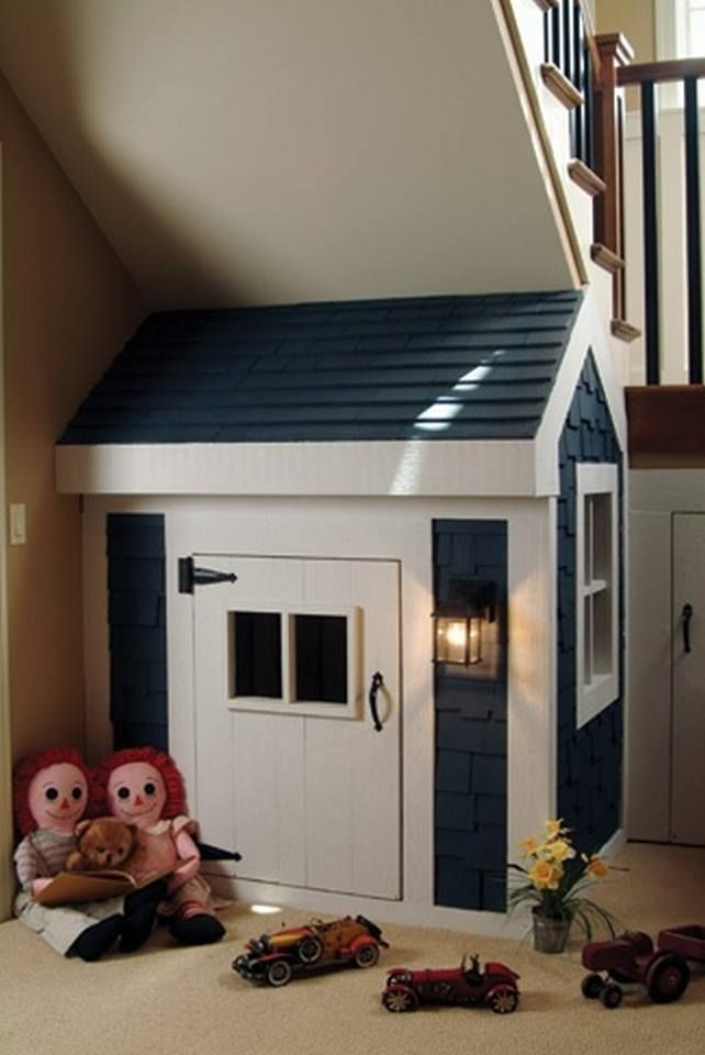 10 kids under stair playhouse diy ideas and tutorial the perfect diy - Playhouse Designs And Ideas