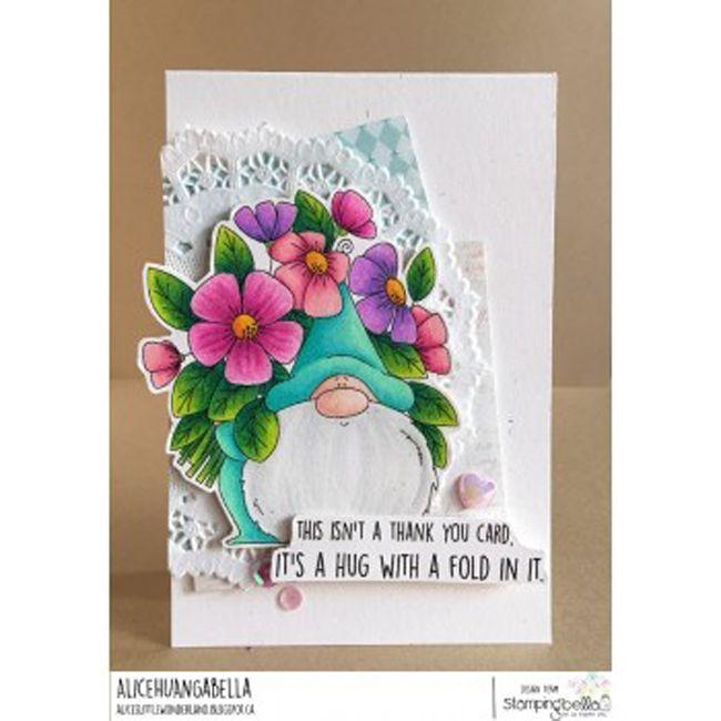 Flowery Gnome Stamping Bella