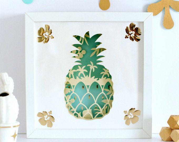Pineapple Light Box