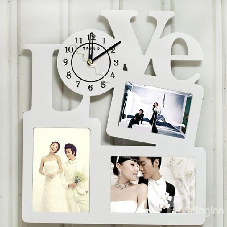 Modern Amazing Creative Photo Frames Design Wall Clock on sale, Buy Retail Price Wall Clocks at Beddinginn.com