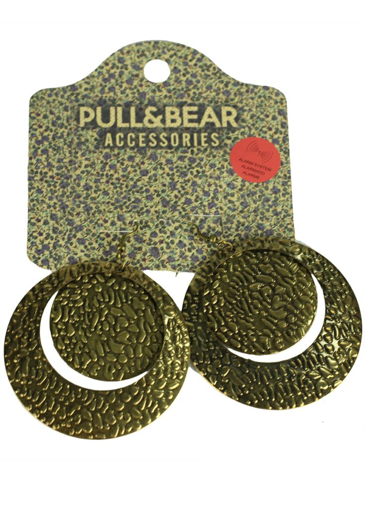 Cercei Pull and Bear Laveh Golden - doar 14,90 lei. Cumpara acum!