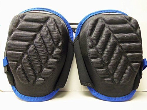 MCGUIRE-NICHOLAS STABILIZER GEL KNEE PADS BLACK W/ BLUE  Brand new never worn excellent condition  Heavy Duty Velcro Straps  Stabilizer  Gel Knee Pads  One pair