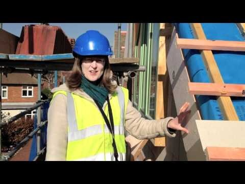 Video showing solid wall insulation being fitted to a 1950s home in Nottingham
