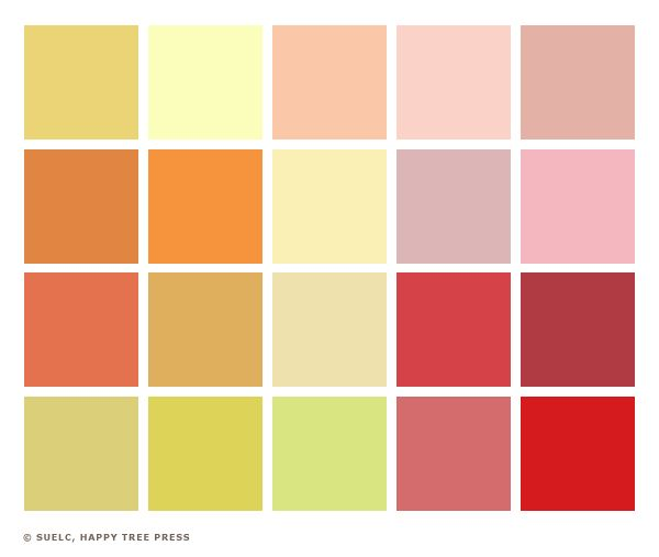11 Pastel Paint Colors: Color Palettes, Color Schemes And Color Pallets
