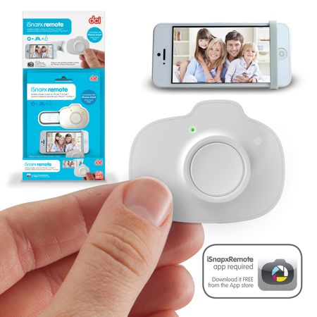 iSnapx Remote - the Snap Remote gives you the power to trigger your iPhone from a distance of up to 3 meters.