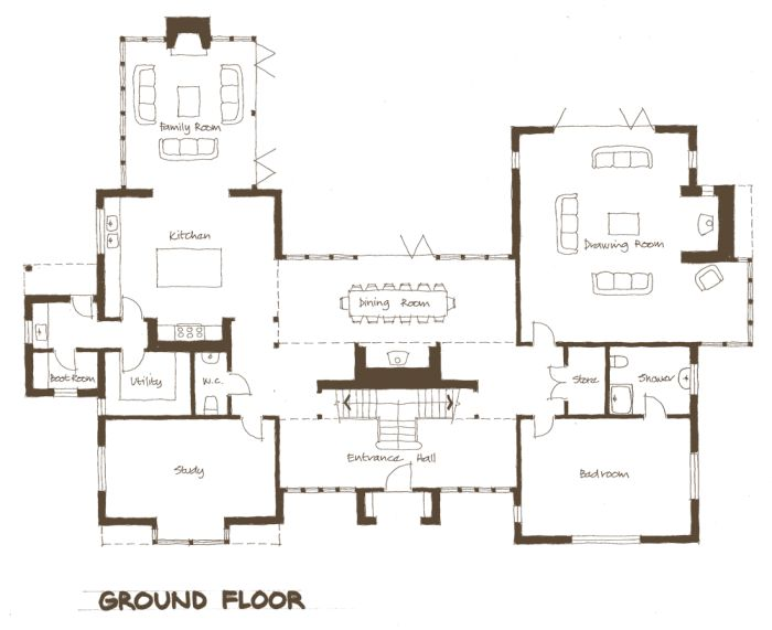 33 best new self build home designs floor plans plots for Self build floor plans