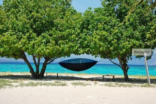 Hammock ready to use #Island #Paradise #Beach #Beautiful #Nice