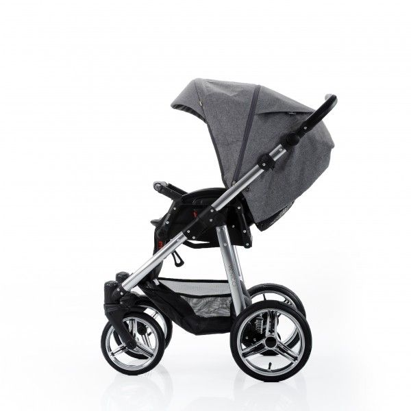 Buy Venicci baby Travel System Denim Grey Silver + carseat online at the best price. UK & ROI delivery. Payment plans available. Baby pram store in Belfast.