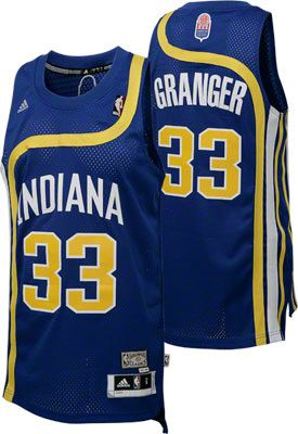 Indiana Pacers Danny Granger 33 Blue Authentic Jersey Sale