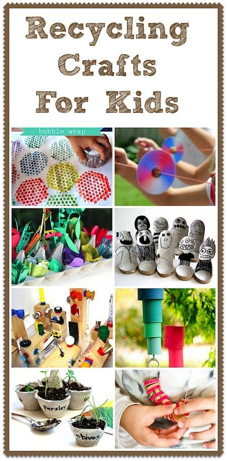 The crafty crow recycling crafts for kids earth day is for Waste material project for kids