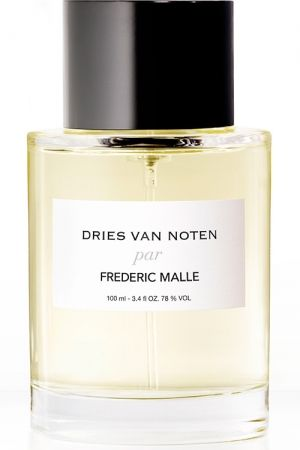 Dries Van Noten by Frederic Malle is a Oriental Woody fragrance for women and men. Dries Van Noten par Frederic Malle was launched in 2013. The nose behind this fragrance is Bruno Jovanovic. The fragrance features sandalwood, guaiac wood, tonka bean, vanilla, saffron, jasmine, musk, bergamot, lemon, nutmeg, cloves, patchouli, woody notes and peru balsam.