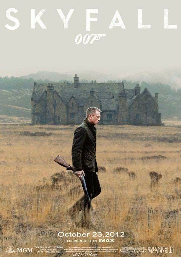 007 James Bond Skyfall 2012 Daniel Craig Berenice Marlohe