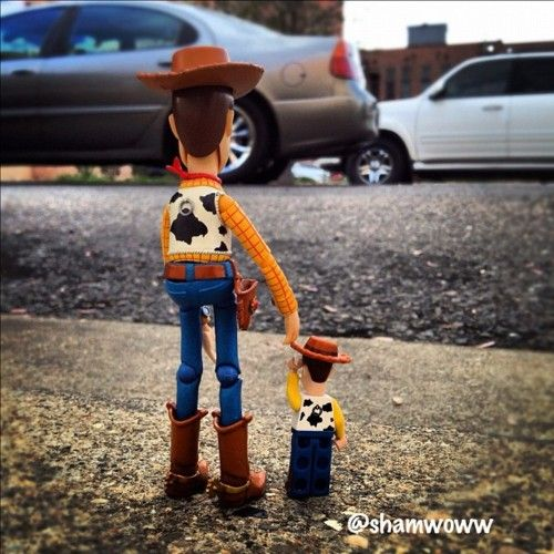Woody = Toy Story.