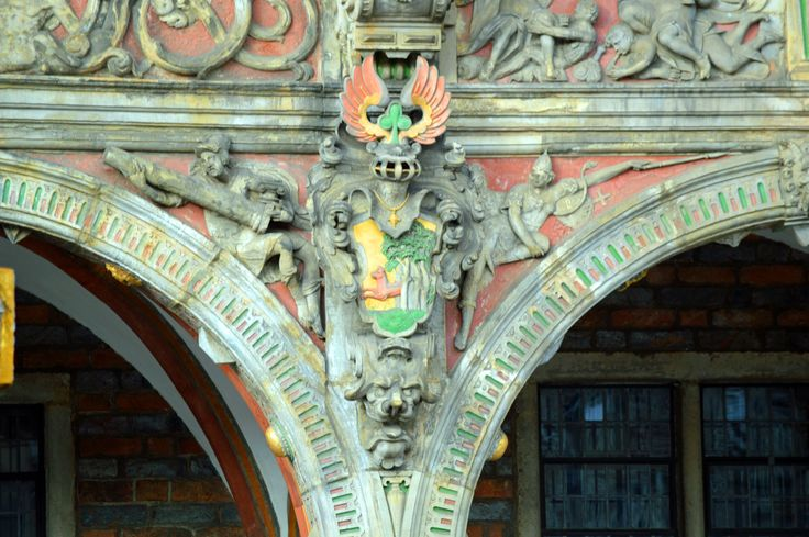 Town Hall architectural detail.