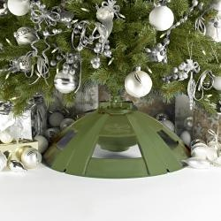 @Overstock - Show off the entire tree with this fun rotating tree stand from Snow Joe. The lights and rotation are separately controlled, so you can use each function individually. The eight-feet and 150-pound capacity ensures most artificial trees can be used.http://www.overstock.com/Home-Garden/Rotating-Christmas-Tree-Stand-by-Snow-Joe/6271399/product.html?CID=214117 $69.99