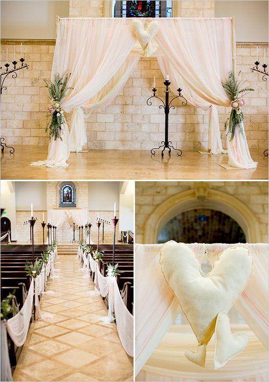 chuppah with exotic greens and protea    Wedding Chicks Wedding Blog - Custom Wedding Totes, Tanks & Totes - Wedding Photographers & Vendors - Wedding Inspiration - Real Weddings