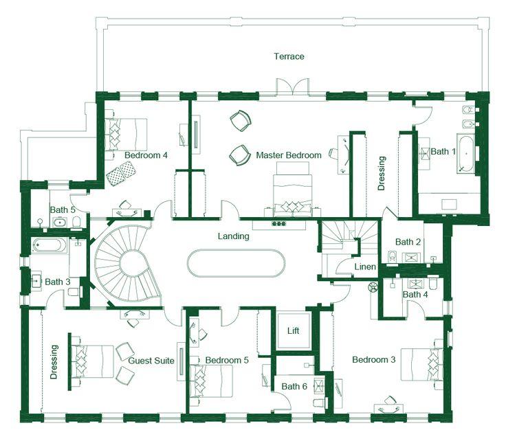 106 best floor plans images on pinterest floor plans for 10 morrison street toronto floor plans