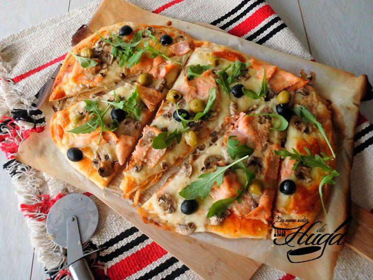 Para los adictos o adictas a los vegetales, esta pizza sera ideal para las cenas veraniegas donde podréis disfrutar de una sabrosa pizza sin tener que recurrir a la sufrida margarita.